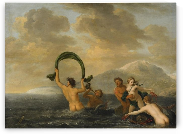 The rape of Prosephina by Abraham van Cuylenborch