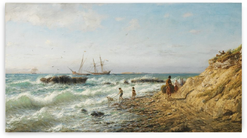 Black Sea Coast by Lev Lagorio