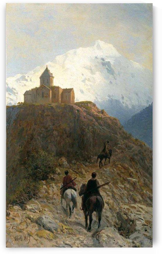 Caucasus by Lev Lagorio