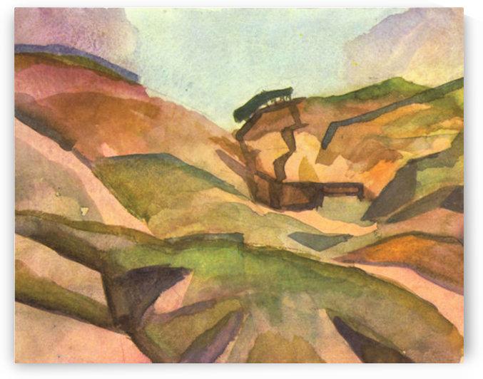 Gorge by August Macke by August Macke