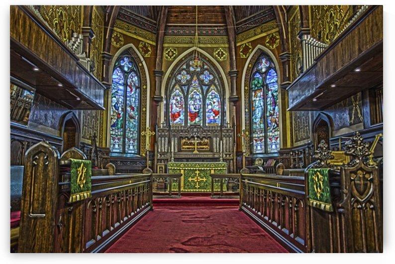 Church Interior by katie tremblay