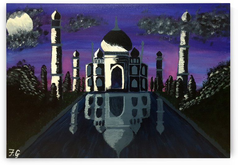 Taj Mahal by Fatima Geloo
