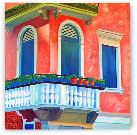 Venice Charm by Bella Visat Artist