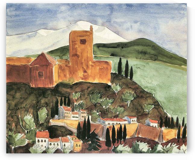 Granada II by Walter Gramatte by Walter Gramatte