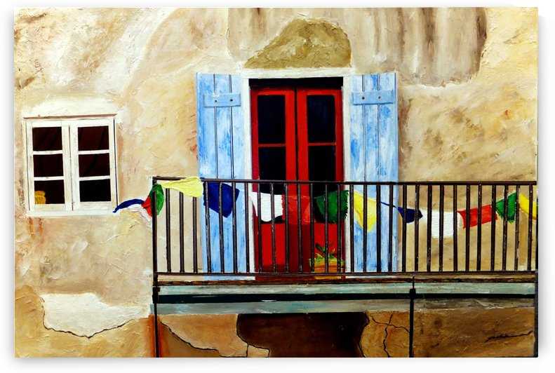 FRENCH QUARTER BALCONY NOLA by Bella Visat Artist