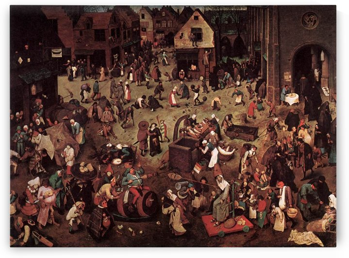 Village party by Hieronymus Bosch