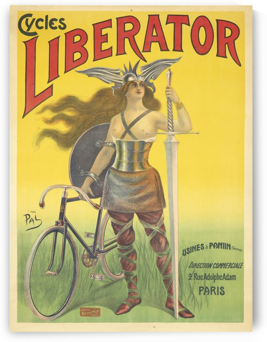 Liberator Cycles by VINTAGE POSTER