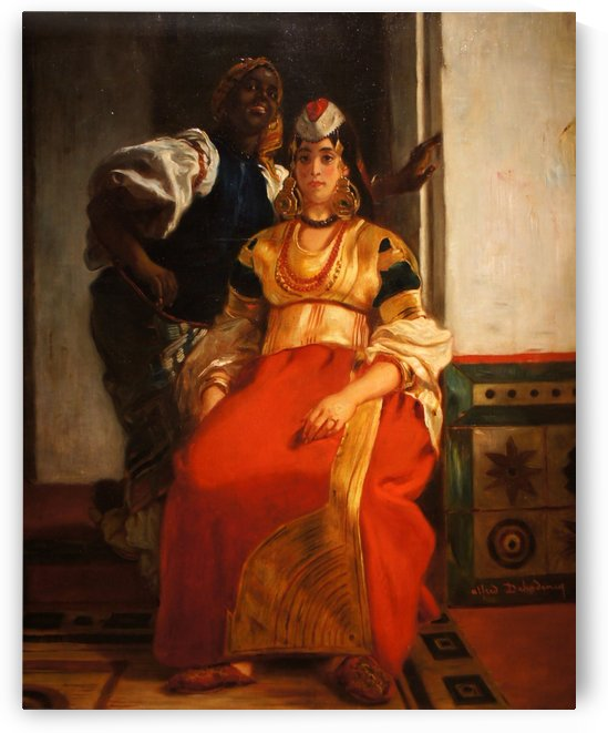 Mariee juive au Maroc by Alfred Dehodencq