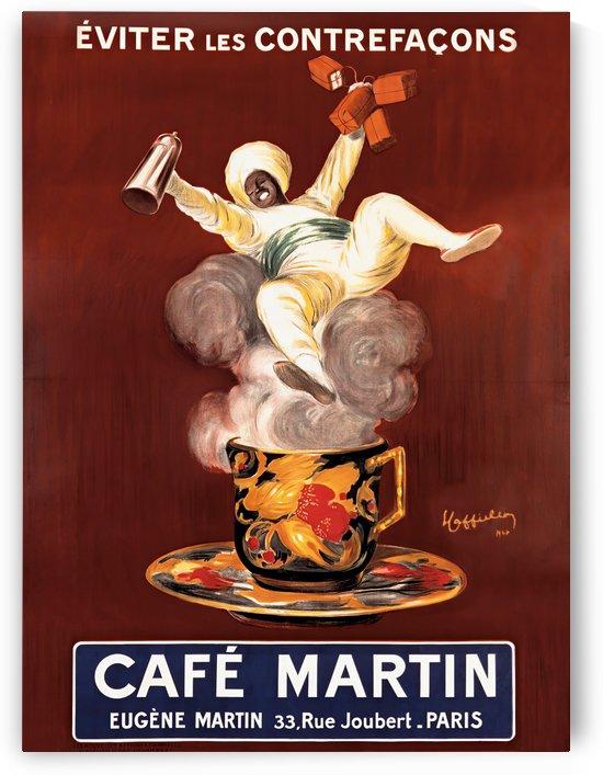 Cafe Martin Vintage Poster by VINTAGE POSTER