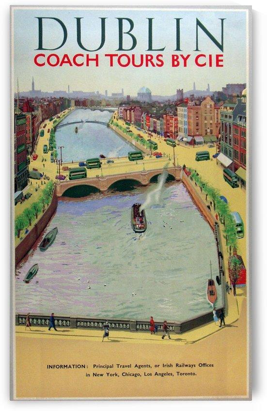 Dublin, Vintage European Poster by VINTAGE POSTER