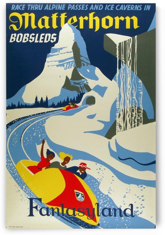 Matterhorn Fantasyland Vintage Poster by VINTAGE POSTER
