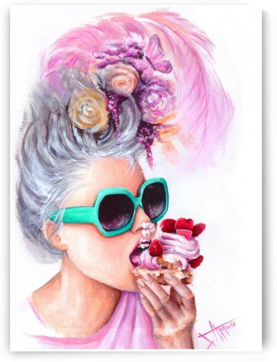 eat more cake by Salma Nasreldin
