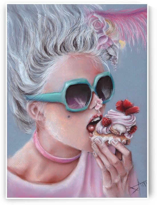 Let them eat cake by Salma Nasreldin