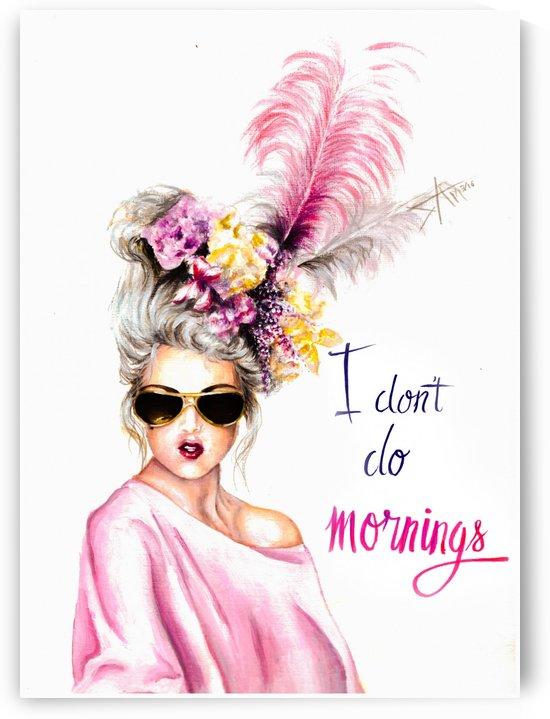 I don't do morning by Salma Nasreldin