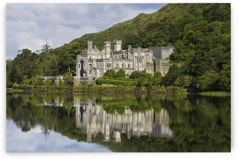 Kylemore Abbey, Connemara; County Galway, Ireland by PacificStock