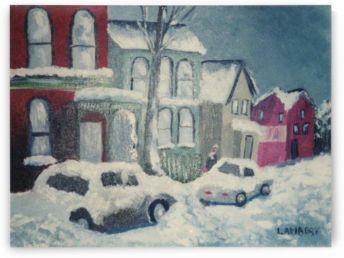 Bordeau street by Dominic Lambert