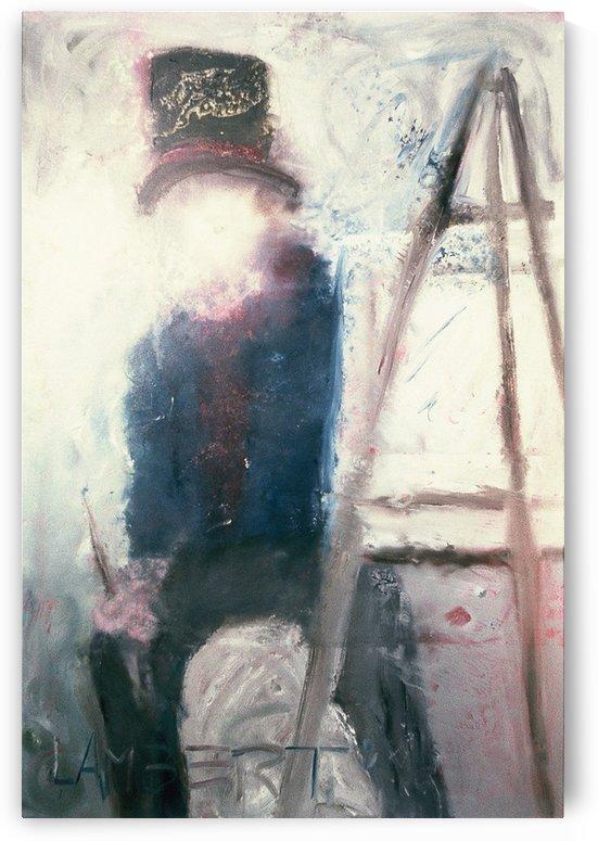 Self portrait by Dominic Lambert