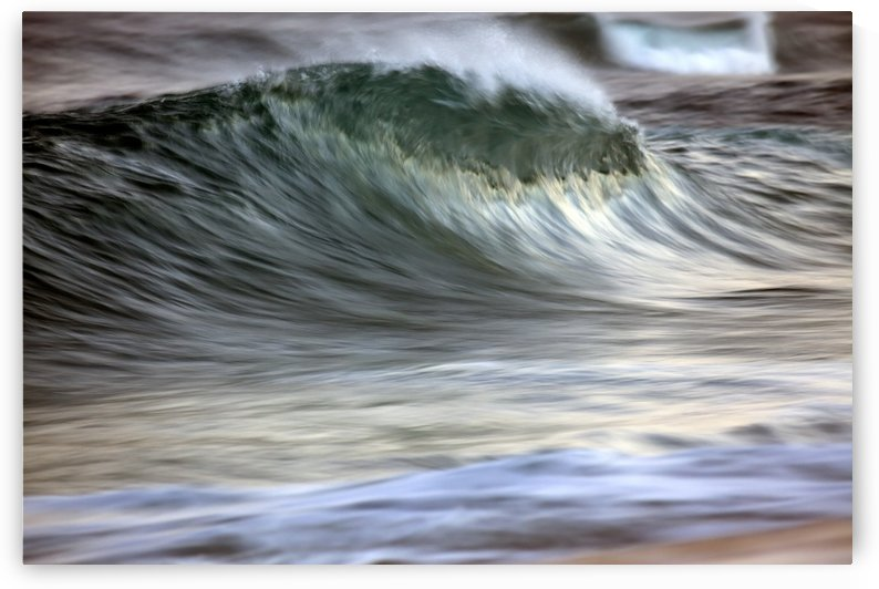Motion blur of breaking wave; Hawaii, United States of America by PacificStock