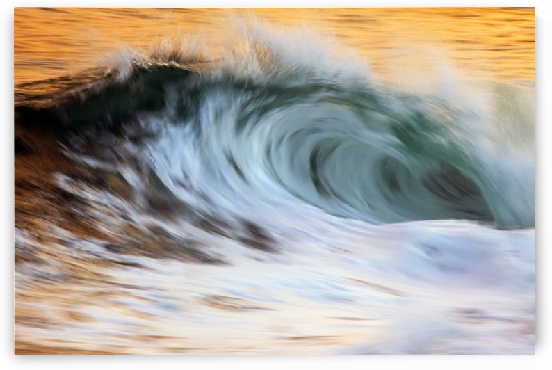 Motion blur of wave; Hawaii, United States of America by PacificStock