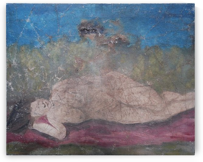 Lying down by Dominic Lambert