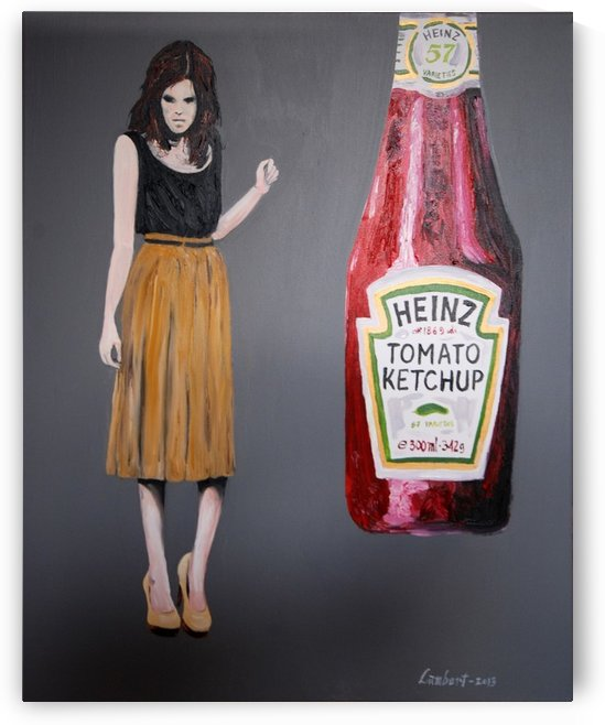 Ketchup killer by Dominic Lambert