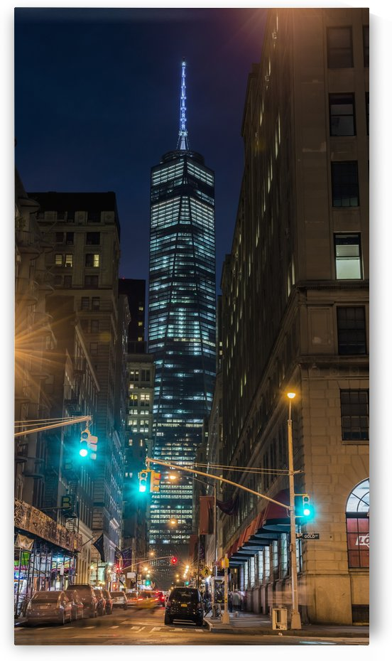 World Trade Center at twilight; New York City, New York, United States of America by PacificStock