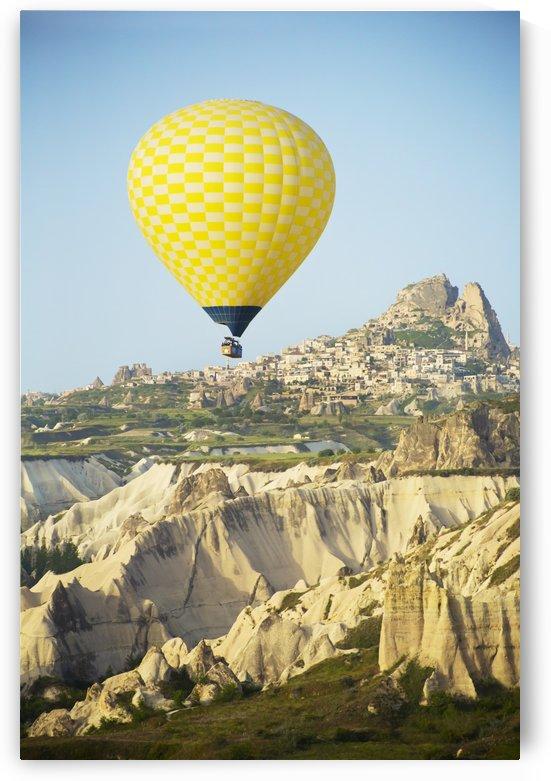 Balloon ride over Goreme National Park; Cappadocia, Turkey by PacificStock