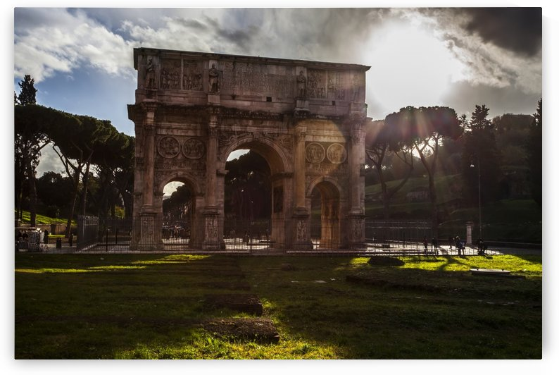 Arch of Constantine; Rome, Italy by PacificStock