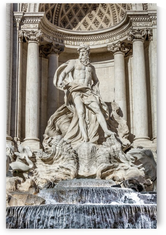 Trevi Fountain; Rome, Italy by PacificStock