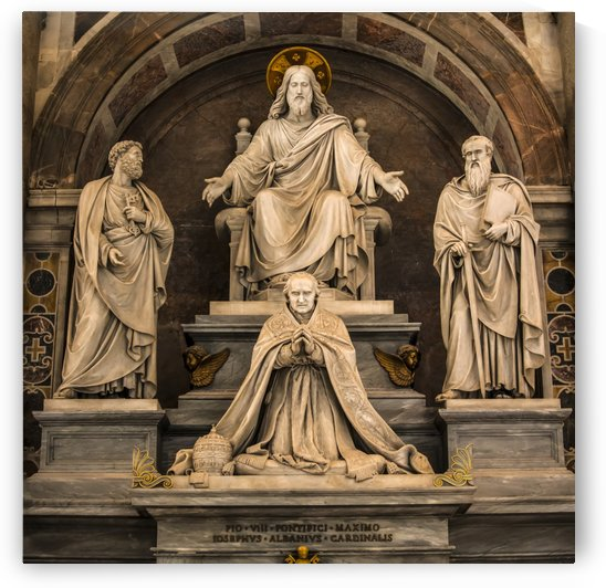 Monument to Pius VIII, Saint Peter's Basilica; Rome, Italy by PacificStock