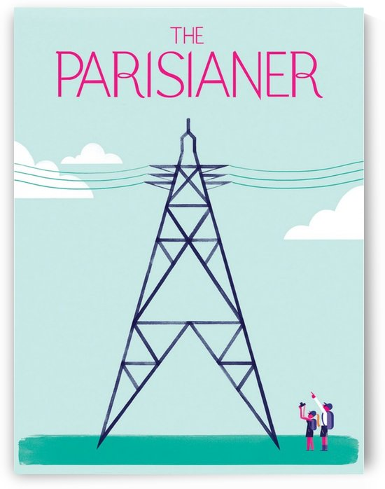 Vintage Poster The Parisianer by VINTAGE POSTER