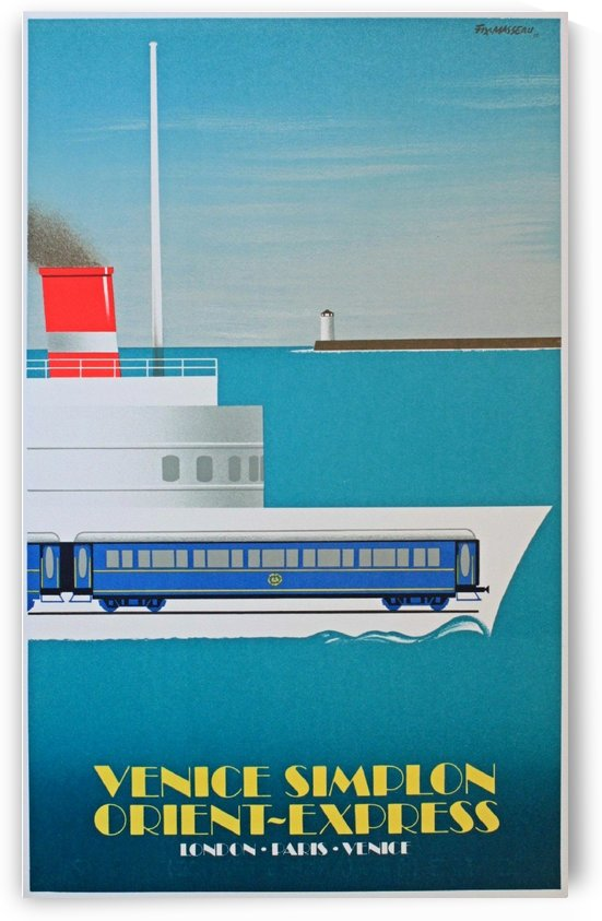 Simplon Orient Express Poster by VINTAGE POSTER