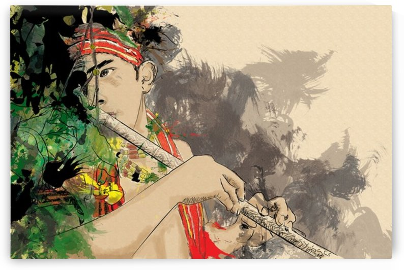 Nose Flute by Marlyn Bulayo