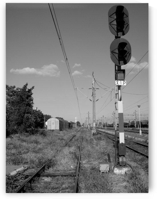 Sunny day at the railway by Vlad Radulian