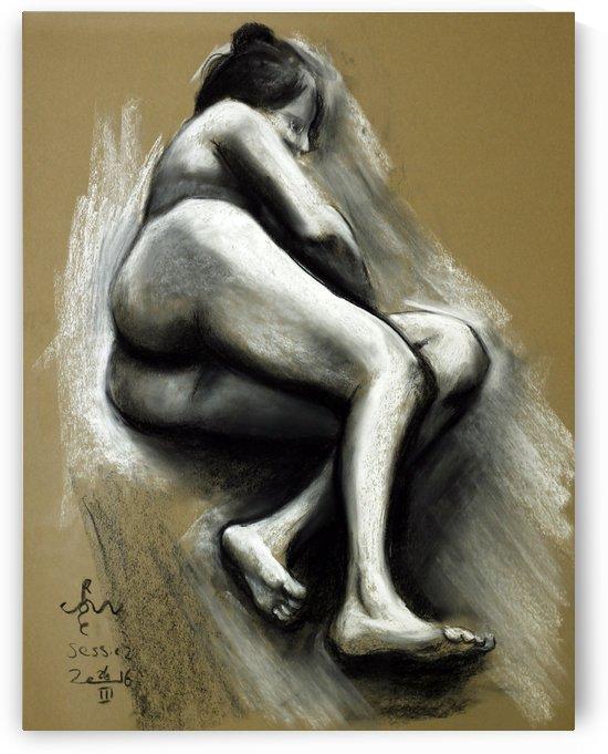 nude 2 - session 26-03-16 by Corné Akkers