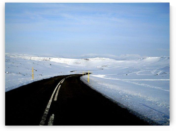 Iceland road by Jure Brkinjac