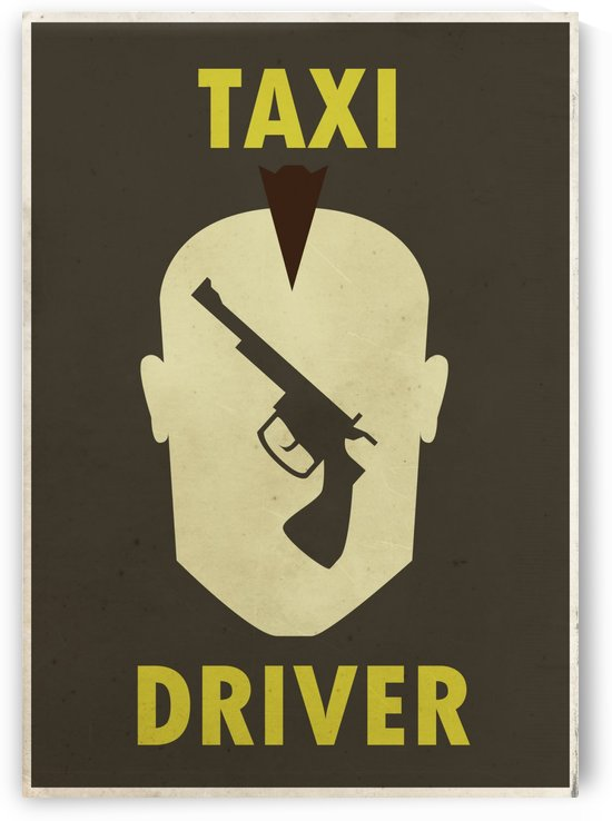 Taxi Driver Vintage Movie Poster by VINTAGE POSTER