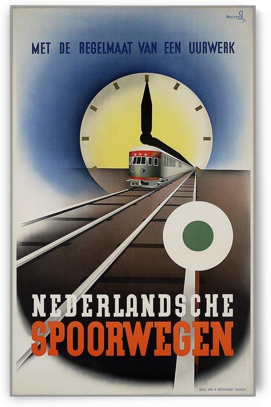 Nederlandse Spoorwegen Poster by VINTAGE POSTER