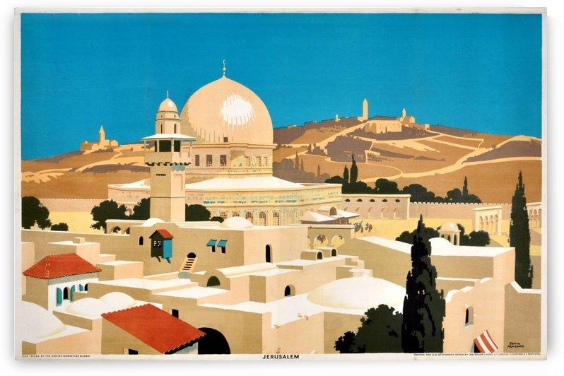 1920 Original Empire Marketing Board Poster for Jerusalem by VINTAGE POSTER