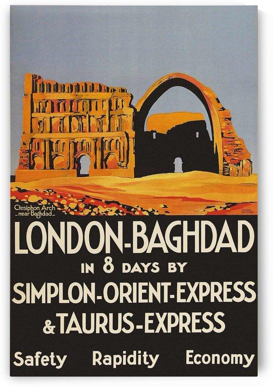Poster London Bagdad Taurus Express Broders 1931 by VINTAGE POSTER