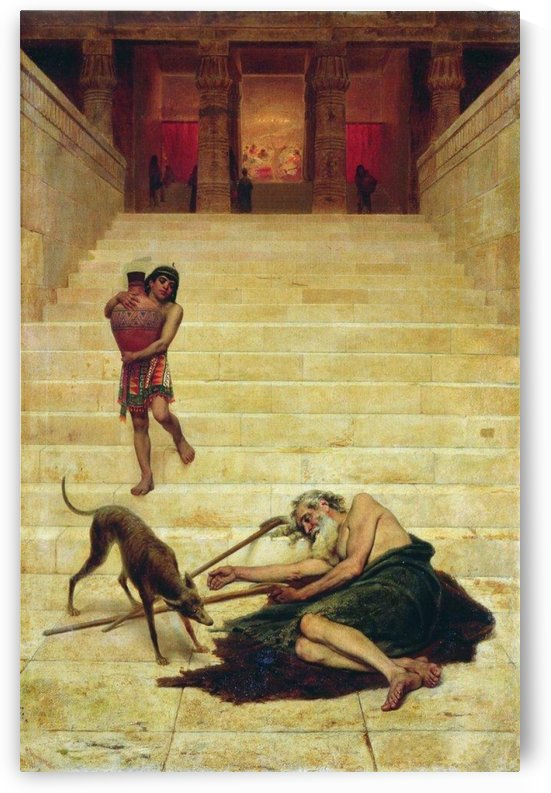 Parable of Lazarus by Fyodor Bronnikov