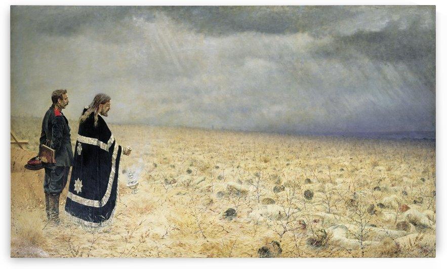 Defeated Requiem 1879 by Vasily Vasilyevich Vereshchagin