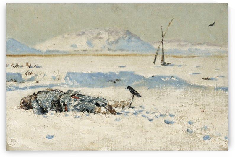 Human remains by Vasily Vasilyevich Vereshchagin