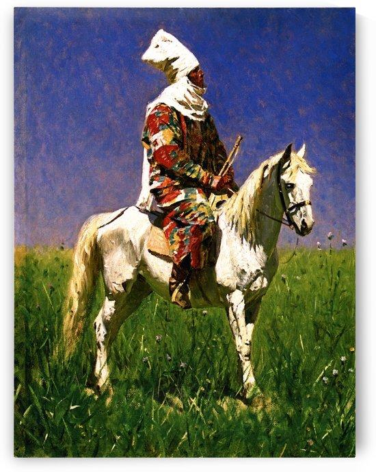 Kirghiz Woman by Vasily Vasilyevich Vereshchagin