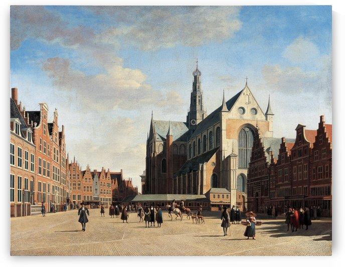 Haarlem 1696 by Gerrit Adriaenszoon Berckheyde