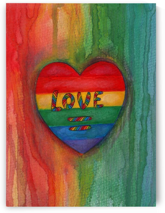 Love Is Equal Drawing by Kent Chua