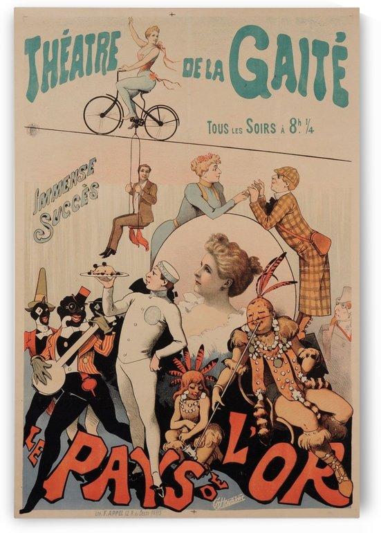 Original Vintage French Poster for Theatre de la Gaite by VINTAGE POSTER