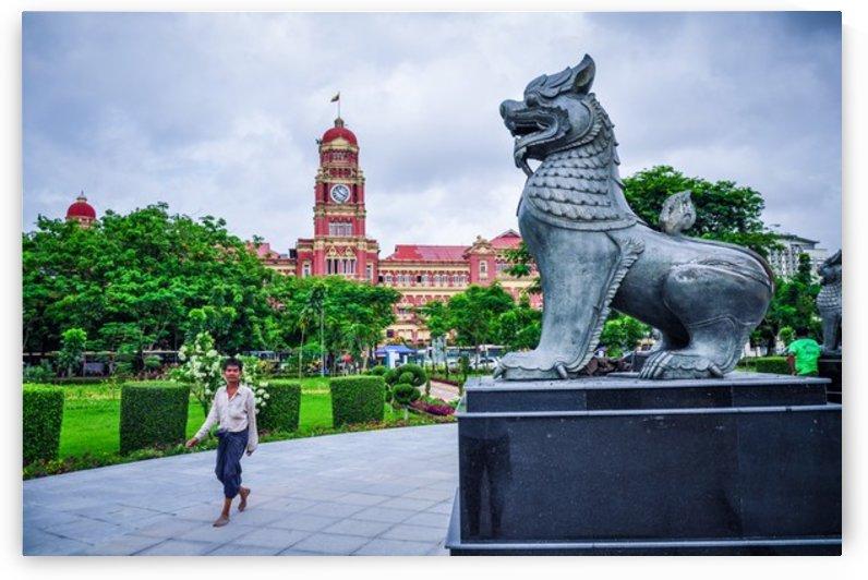 Yangon by Jure Brkinjac