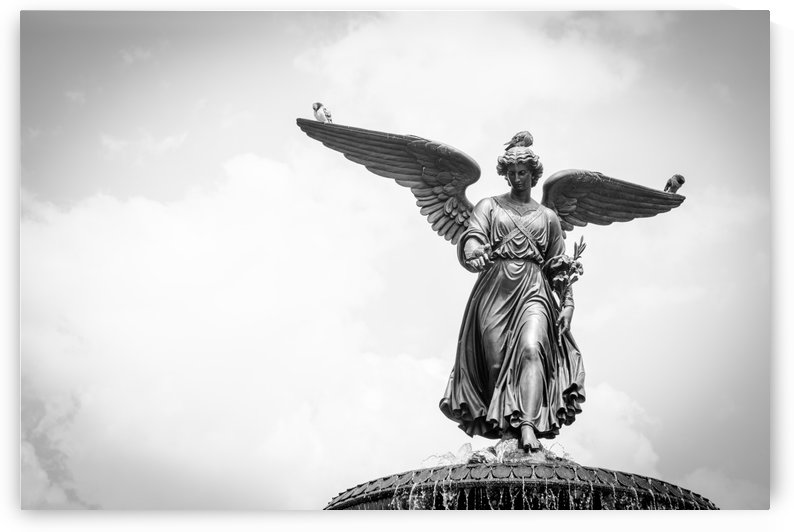 Bethesda Fountain by Garate Photography