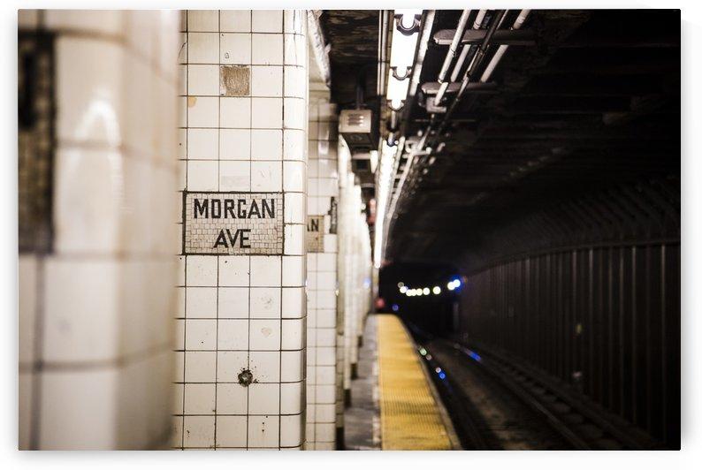 NYC Subway by Carlos M  Garate